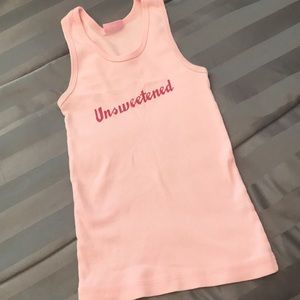 Urban Outfitters baby pink Unsweetened tank
